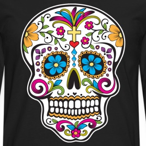 Sugar Skull - Men's Premium Long Sleeve T-Shirt