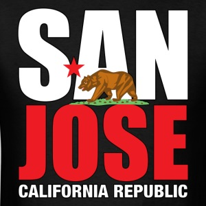 San Jose California - Men's T-Shirt