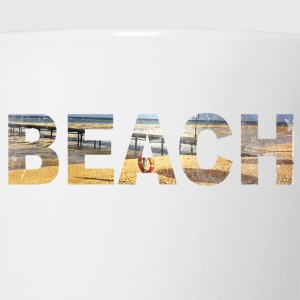 Beach  T-Shirts - Coffee/Tea Mug