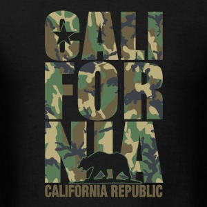 California Camouflage - Men's T-Shirt