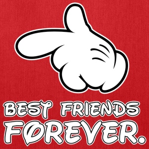 best friends forever - Tote Bag