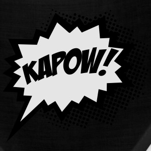 Comic KAPOW!, Super Hero, Cartoon, Bubble, Boom,  T-Shirts - Bandana