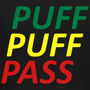 puff puff pass Zip Hoodies & Jackets - Men's Premium T-Shirt