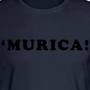 'Murica! Men's Humor Hoodies - Men's Long Sleeve T-Shirt