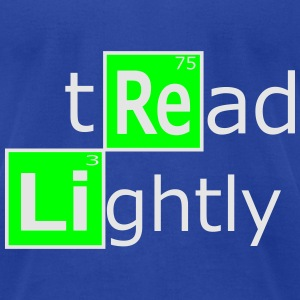 tread lightly Tanks - Men's T-Shirt by American Apparel