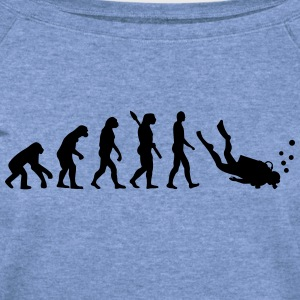 Evolution Scuba Diving T-Shirts - Women's Wideneck Sweatshirt