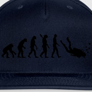 Evolution Scuba Diving T-Shirts - Snap-back Baseball Cap