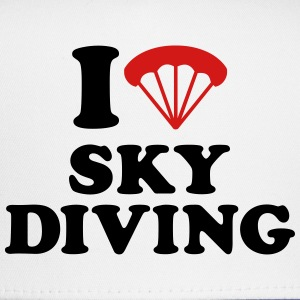 I love Skydiving T-Shirts - Trucker Cap