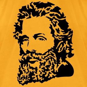 Herman Melville Portrait Bags & backpacks - Men's T-Shirt by American Apparel