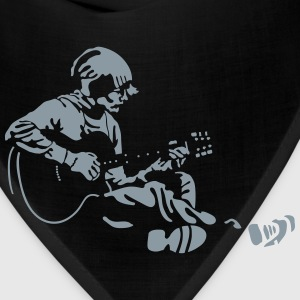 guitarist Women's T-Shirts - Bandana