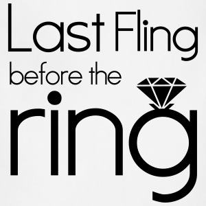 Last Fling Before the Ring Women's T-Shirts - Adjustable Apron