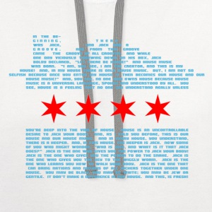 EDM Gear Chicago Logo w Website on Back - Contrast Hoodie