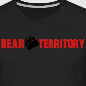 BEAR TERRITORY Hoodies - Men's Premium Long Sleeve T-Shirt