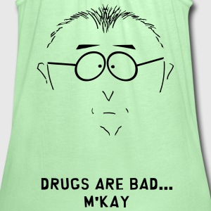 Drugs Are Bad T-Shirts - Women's Flowy Tank Top by Bella