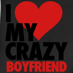 I Love My Crazy Boyfriend Women's T-Shirts - Leggings