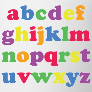 Kids Color Alphabet Kids' Shirts - Coffee/Tea Mug