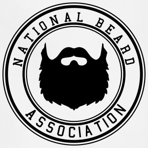 National Beard Association Beards Mustache 1c Hoodies - Adjustable Apron
