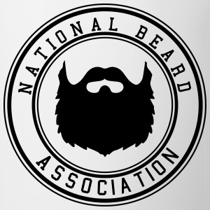 National Beard Association Beards Mustache 1c Hoodies - Coffee/Tea Mug
