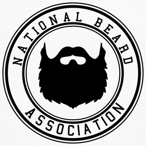 National Beard Association Beards Mustache 1c Hoodies - Men's Premium Long Sleeve T-Shirt