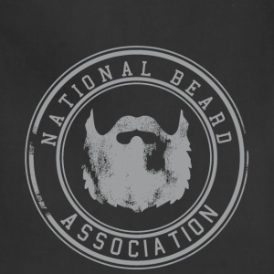 National Beard Association Grunge Mustache 1c Bags & backpacks - Adjustable Apron