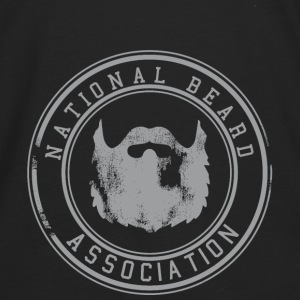 National Beard Association Grunge Mustache 1c Bags & backpacks - Men's Premium Long Sleeve T-Shirt