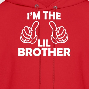 i'm the lil brother  Kids' Shirts - Men's Hoodie