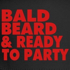BALD BEARD & READY TO PARTY T-Shirts - Trucker Cap