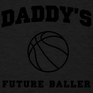 Daddy's Future Baller Baby & Toddler Shirts - Men's T-Shirt