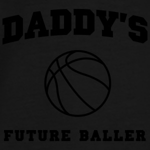Daddy's Future Baller Baby & Toddler Shirts - Men's Premium T-Shirt