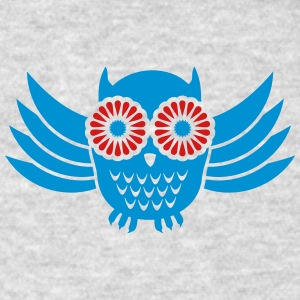 Owl (2c) Tanks - Men's T-Shirt