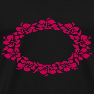 hawaiian flower ring Tanks - Men's Premium T-Shirt