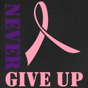Never Give Up. Pink Ribbon Women's T-Shirts - Leggings
