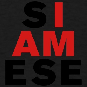 I AM SIAMESE Caps - Men's T-Shirt