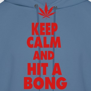 KEEP CALM AND HIT A BONG T-Shirts - Men's Hoodie