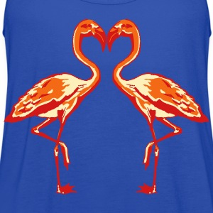 two flamingos T-Shirts - Women's Flowy Tank Top by Bella