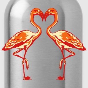 two flamingos T-Shirts - Water Bottle
