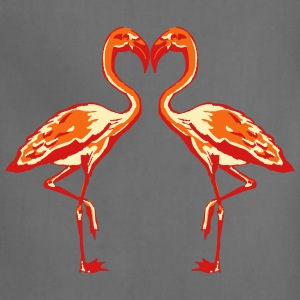 two flamingos T-Shirts - Adjustable Apron