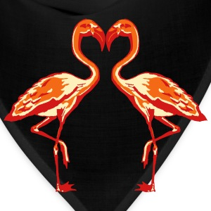 two flamingos T-Shirts - Bandana
