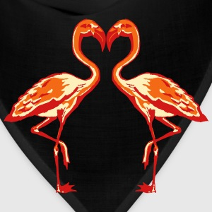 two flamingos Women's T-Shirts - Bandana