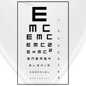 E=mc2 and the Holy Eucharist Women's T-Shirts - Bandana