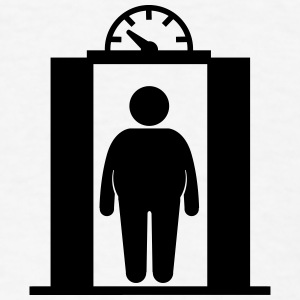 fat elevator man Phone & Tablet Covers - Men's T-Shirt