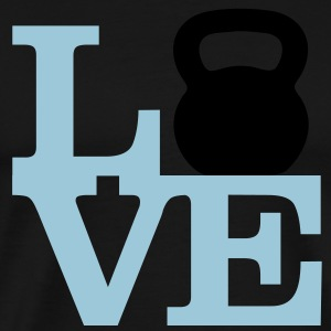 Love Kettlebells - AMRAP Style Tanks - Men's Premium T-Shirt