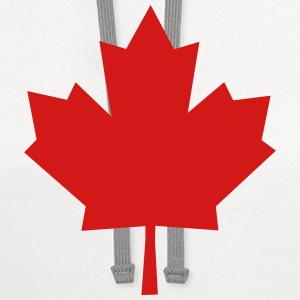 Maple Leaf - Symbol of Canada T-Shirts - Contrast Hoodie