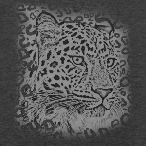 transparent leopard  Long Sleeve Shirts - Men's V-Neck T-Shirt by Canvas