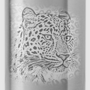 transparent leopard  Long Sleeve Shirts - Water Bottle