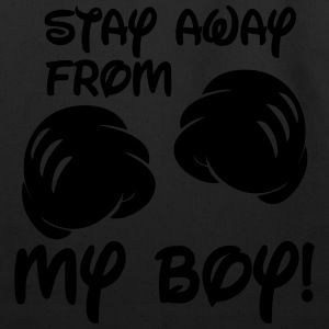 Stay Away From My Boy Hoodies - Eco-Friendly Cotton Tote