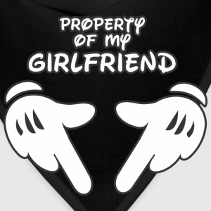 Property of my Girlfriend t-shirt - Bandana