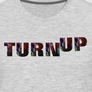 TURN UP HOODIE - Men's Premium Long Sleeve T-Shirt