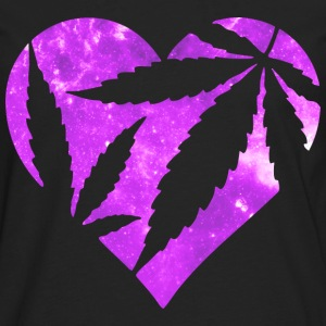 Marijuana Heart Hoodies - Men's Premium Long Sleeve T-Shirt