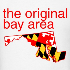 maryland: the original bay area Hoodies - Men's T-Shirt